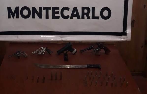 Montecarlo: luego de un raid violento, atrapan a una banda